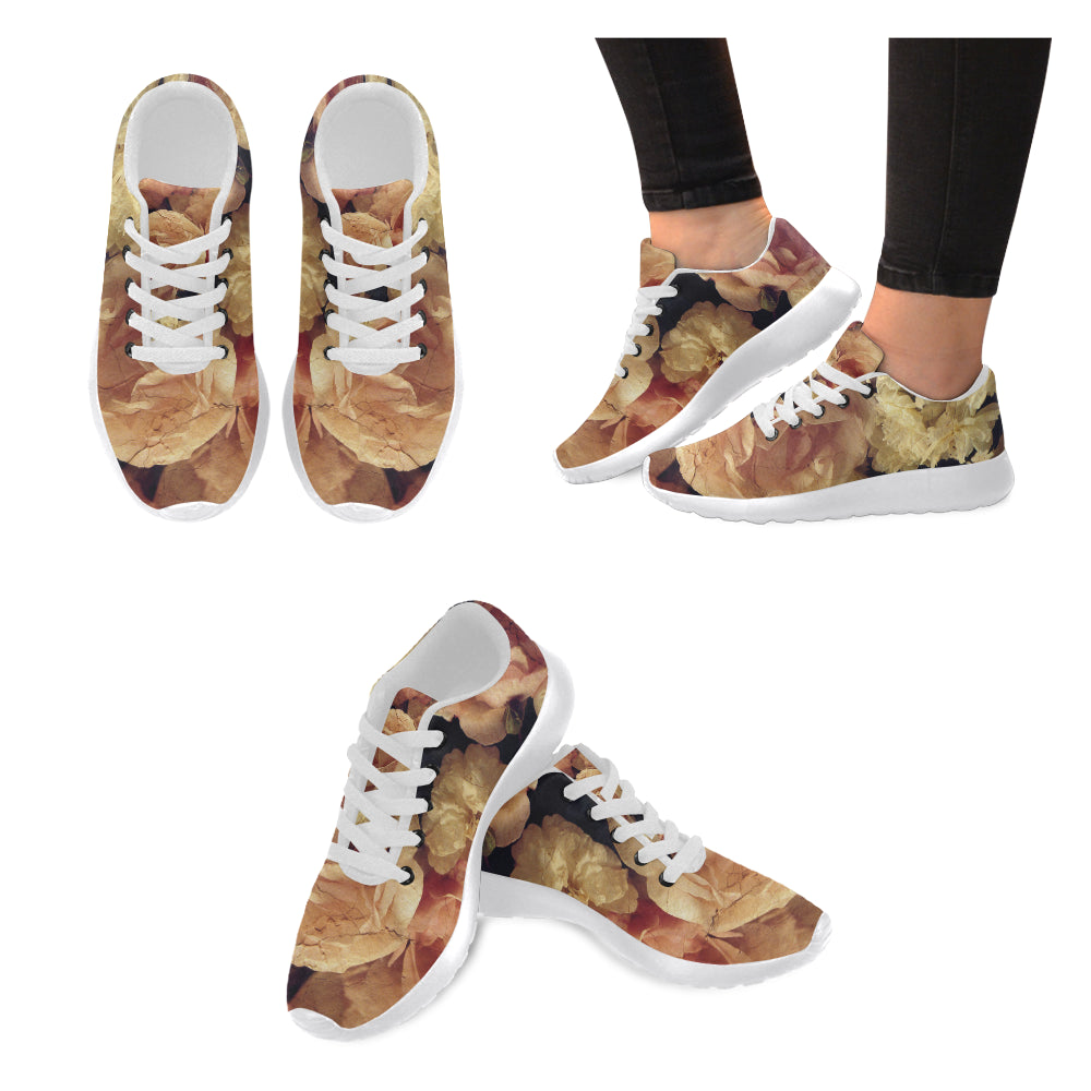 Women's Sneakers- Various Roses - wonderlandaccessories