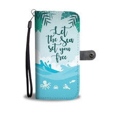 Sea-Wallet and Phone Case - wonderlandaccessories