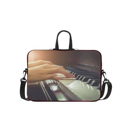 Classic Sleeve for 15,4-15,6 '' Laptop-Piano Playing
