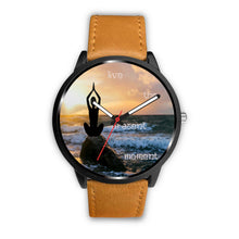 Live the Present Moment, Yoga Posture- Watch - wonderlandaccessories