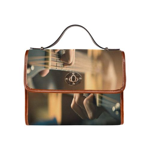 Waterproof Canvas Bag-Quitar Playing