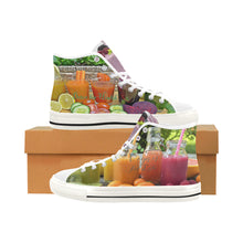 Vancouver High Top Canvas Shoes -Detox For Health - wonderlandaccessories