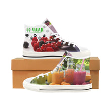 Vancouver High Top Canvas Shoes -Vegans Virtue - wonderlandaccessories