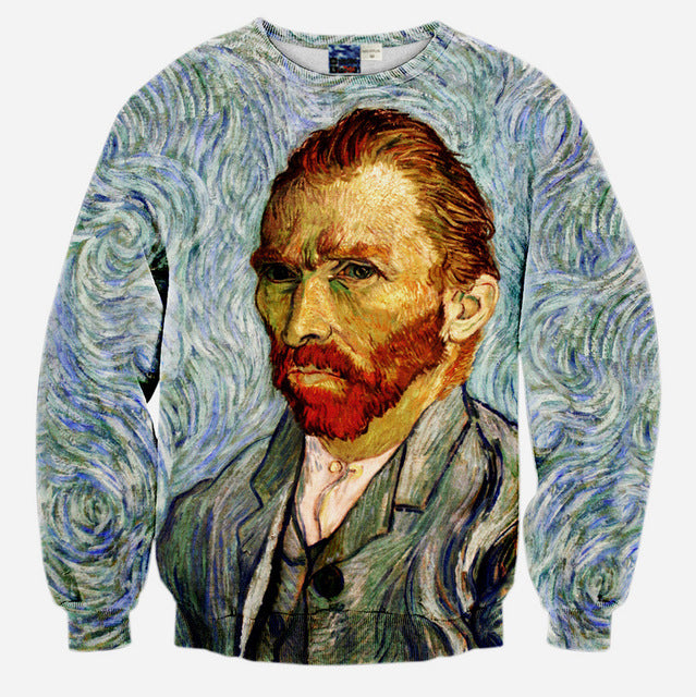 Van Gogh Portait Oil Painting - wonderlandaccessories