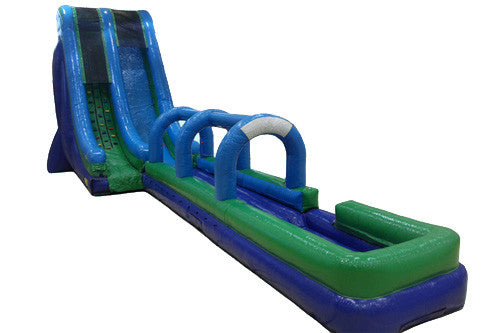 #10 - 25' Rock Climb Water Slide w/slip & slide