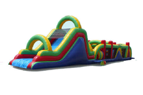 70' Rainbow Obstacle Course