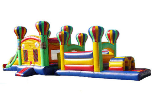 50' Balloon Obstacle Course / Bounce and Slide