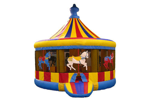 16' Round Carousel Bounce