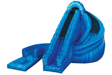 #4 - 22' Corkscrew Water Slide w/pool