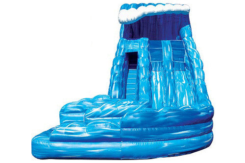 #7 - 18' Dual Wave Water Slide w/pool - For Children Only