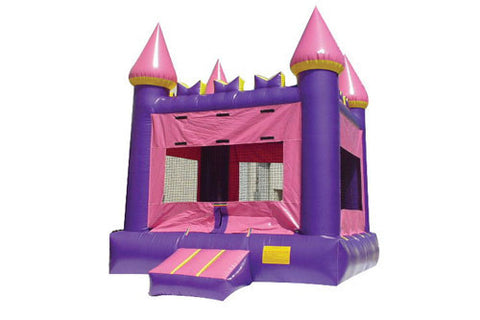 13' Purple Castle Bounce