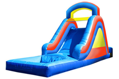 #1 - 14' Rainbow Water Slide w/pool - For Smaller Children