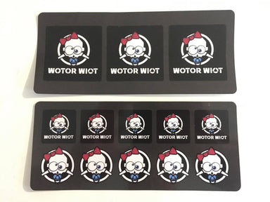 WOTOR WIOT Sticker Sheet Pack-Stickers-FPV Life