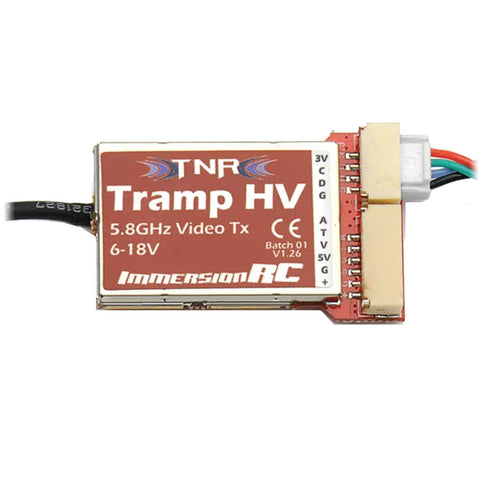 IMMERSIONRC TRAMP HV 5.8GHZ VIDEO TRANSMITTER V2-Video Transmitters-FPV Life