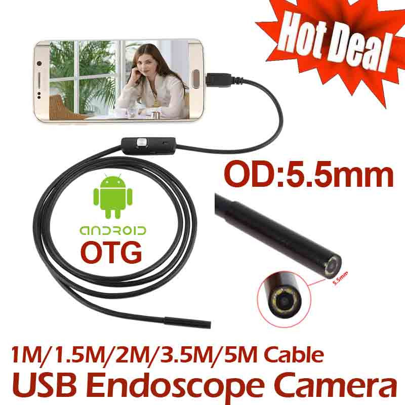 5M/15' USB Waterproof USB Camera
