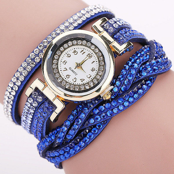 NEW Braided Leather Bracelet Watch