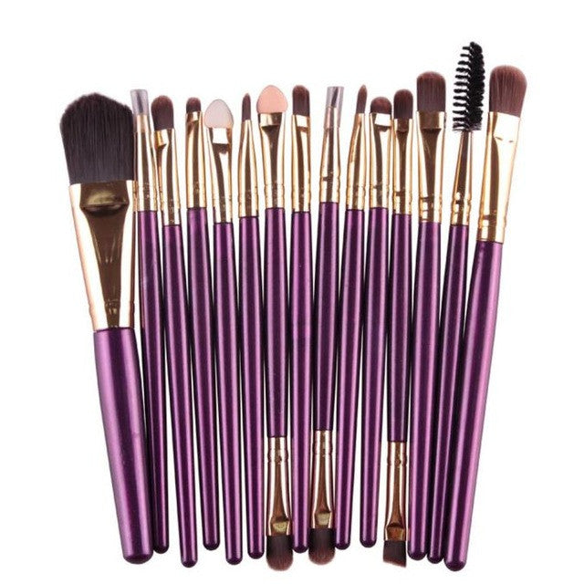 15 Piece Brush Kit