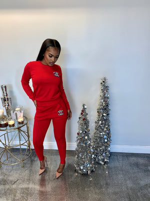 Pearl CC Sweater 2piece set