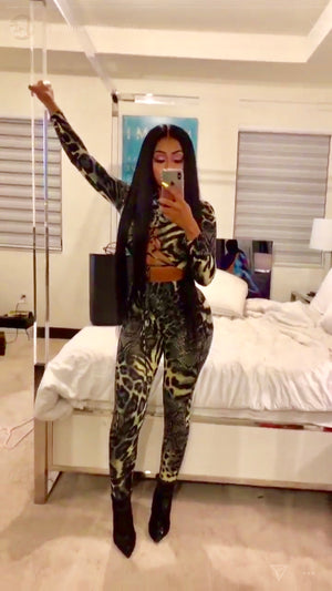 Jungle Girl Catsuit