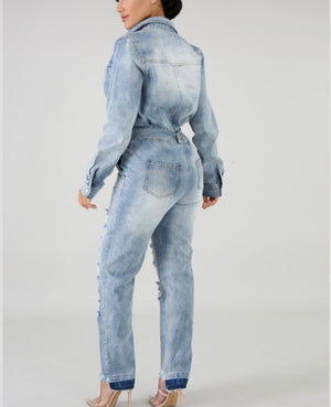 Denim Girl Jumpsuit