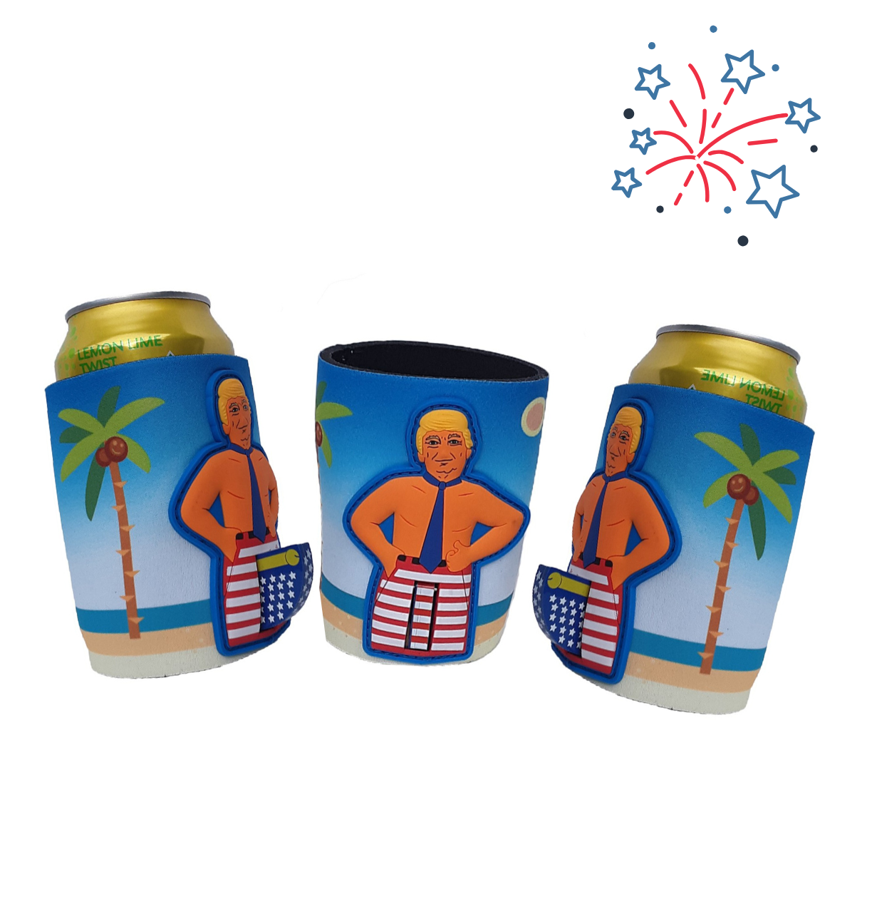 3 PACK! Presidential Can Koozie Best Deal!