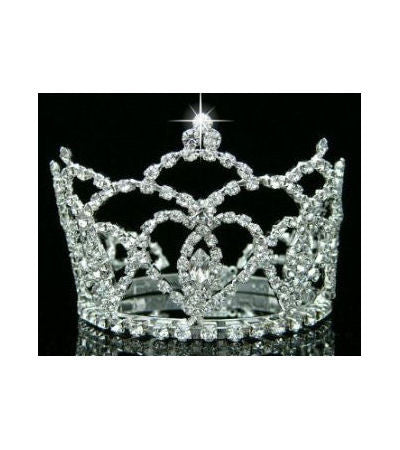Mini Rhinestone Newborn Crown Isabella