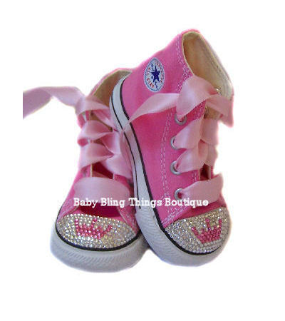 Princess Crown Swarovski Crystal Bling Shoes
