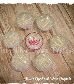Custom Swarovski Crystal Drawer Dresser Knobs