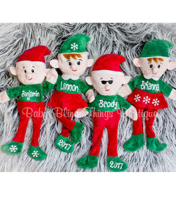 Personalized Christmas Elf Elves
