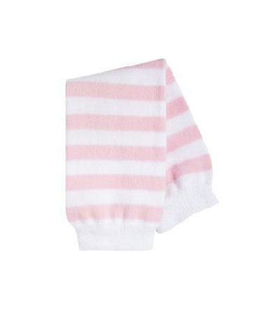 Pink and White Baby Infant Toddler Leg Warmers