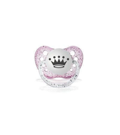 Princess Crown Tiara Pink Pacifier