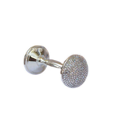 Diamonds Baby Bling Swarovski Crystal Keepsake Rattle