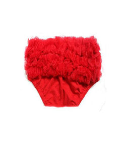 Red Chiffon Petti Bloomers Infant Baby Toddler
