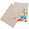 Handmade Lokta Paper Greeting Cards - Set of 3