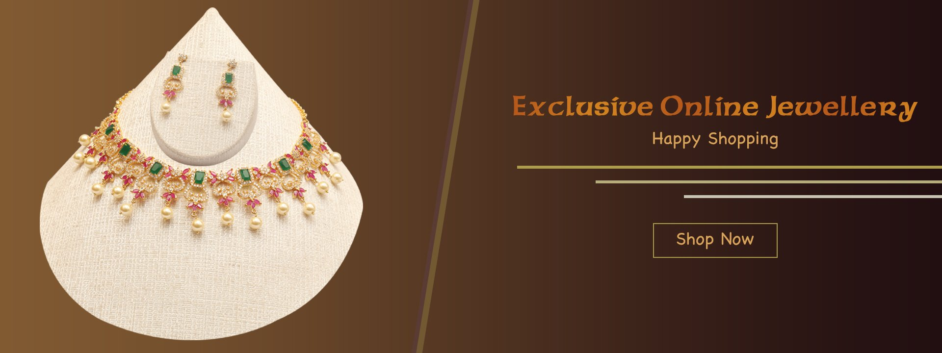 20% OFFER & EXCLUSIVE ONLINE JEWELLERY