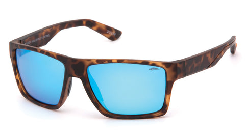 Matte Demi Brown / Blue Revo