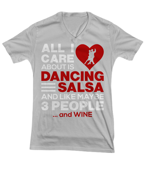 All I Care About Is Dancing Salsa...and Wine