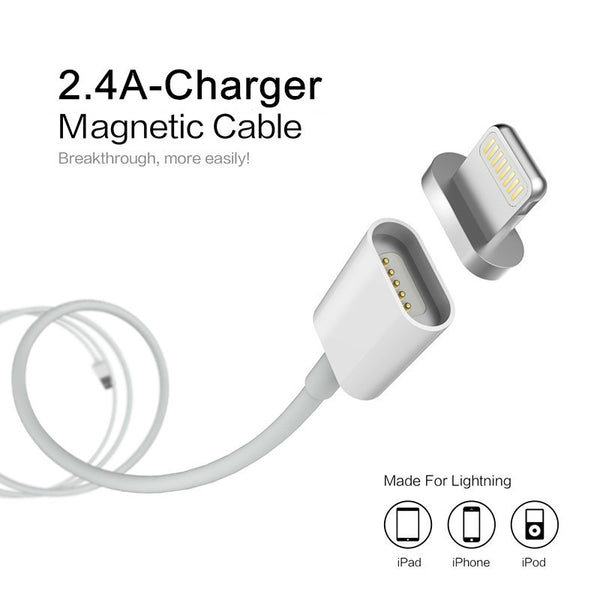Lightning Fast Magnetic Cable Charger - iPhone & Android