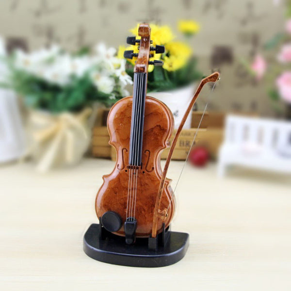 Retro Violin Music Box