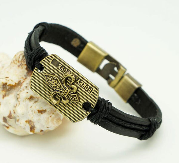 Stylish WHO DAT NATION Bracelet