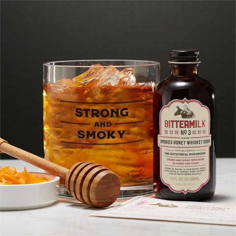 Smoked Honey Whiskey Sour Mixer Set