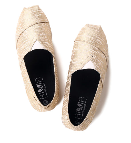 Golden Future : Espadrilles for Women - Rivir Shoes