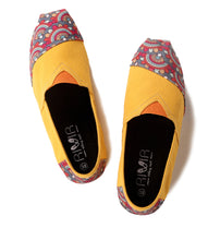Yellow Floral Espadrilles