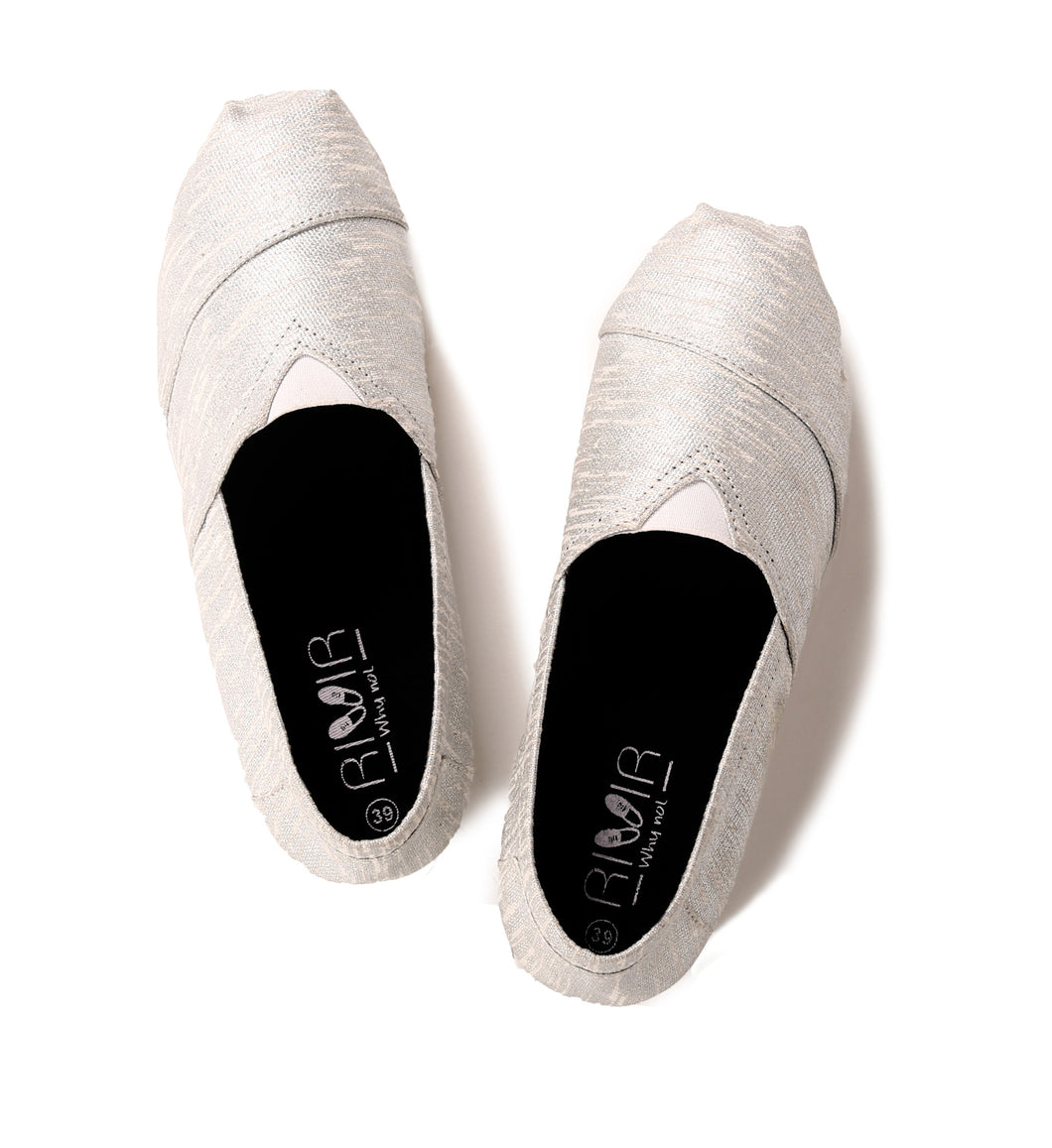 rivir-shoes - The Silver Lining : Espadrilles for Women - Rivir - Espadrilles