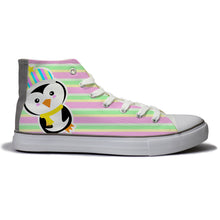 rivir-shoes - Antarctic Bird : For Women - Rivir Shoes - High Top Sneakers