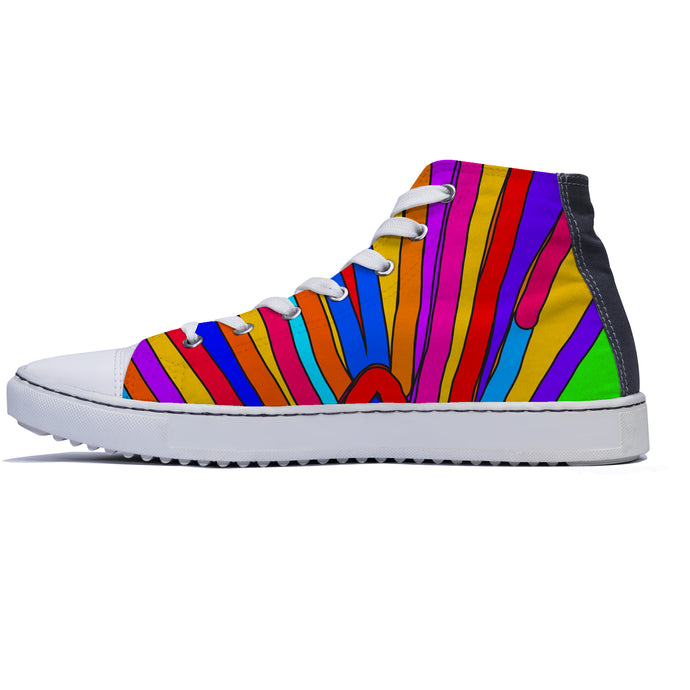 A Thousand Rainbows HiTop Shoes