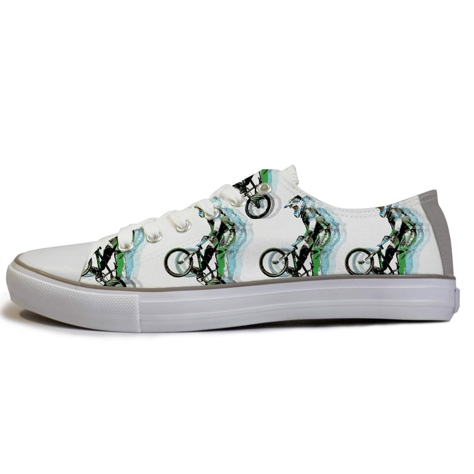 Low top bmx riding sneakers