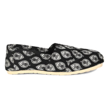 rivir-shoes - Bagh Floral Hand Printed Handmade Espadrilles for Women - Rivir Shoes - Espadrilles