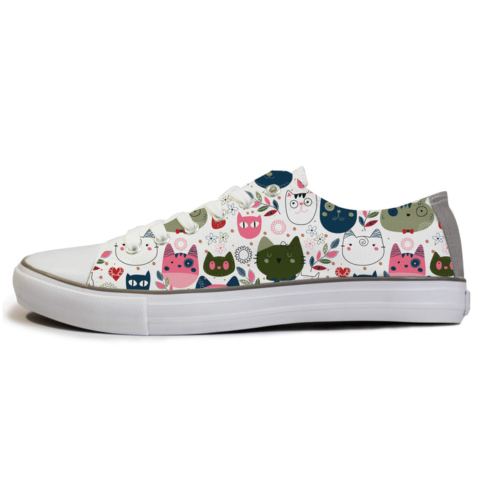 rivir-shoes - Purrdle : For Women - Rivir Shoes - Low Top Sneakers