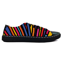 Color Flood Black Low Top